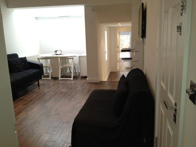 Hammersmith & Fulham apartment rental - 2 x Double sofas - converts to 2 x double beds