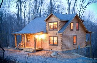 Stanardsville cabin photo - Authentic (and modern) log cabin awaits you.