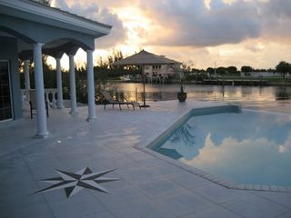 Grand Bahama Island villa photo - Sunrise by the Pool