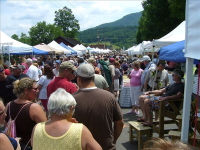 Annual local Christmas in July Festival