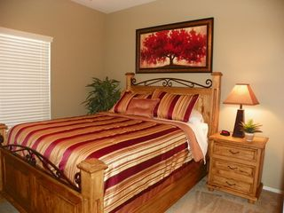San Tan Valley house photo - Bedroom 2 with Queen-Size Bed with plush bedding and lots of closet space
