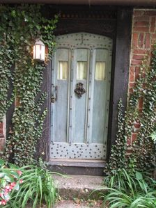 Your Herringbone Cottage's front door.
