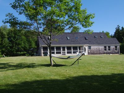 Peace and Quiet on a lovely private property on Penobscot