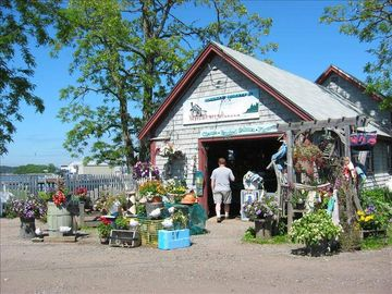 Holbrook Gift Shop in Cundy's Harbor, right beside the restaurant.