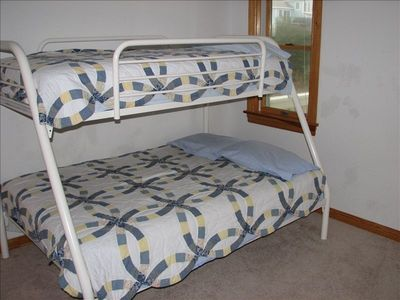 Parents with small children will find the Duo bunk room comfy for all