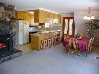 FULLY EQUIPPED KITCHEN, DINING FOR 12, Another FIREPLACE.
