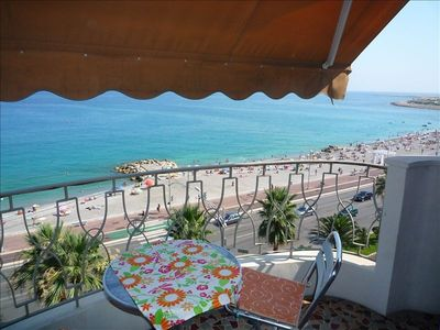 Promenade des Anglais apartment rental - Views are stunning from every direction!