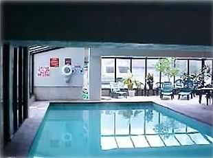 Indoor Heated Pool at Oak Square Condominium for year round enjoyment