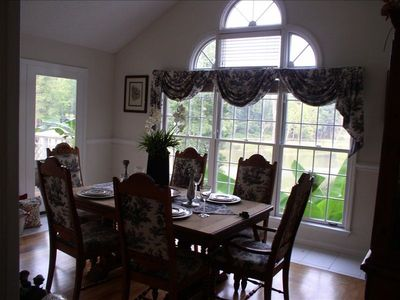 Guntersville lake Vacation Rental ,Dining Room