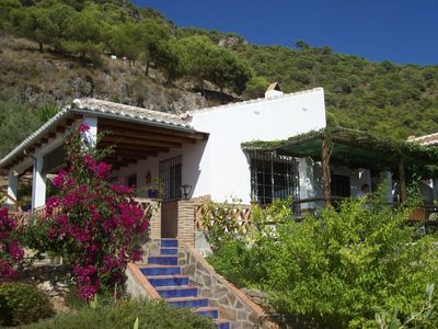 Andalucian Villa situated in the Nature Park with private pool & stunning views