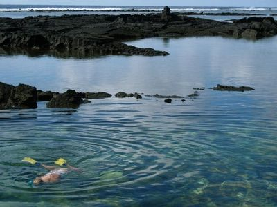 Snorkrling at Kapoho tide pools