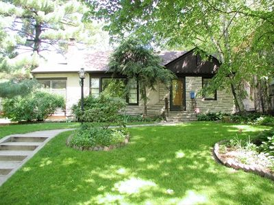 Minneapolis house rental - Front view from prestigious West Minnehaha Parkway