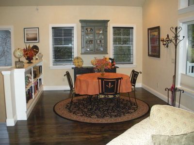 Hailey house rental - Dining area. Can seat 4 to 6 people