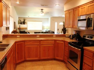 Moab townhome photo - Kitchen looking center