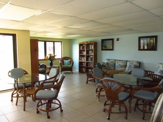 Recreation club room off of the pool area - Cocoa Beach condo vacation rental photo