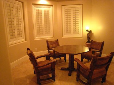 Henderson house rental - Poker Card Room (Full Poker Set Available)