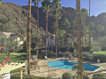 Indian Wells condo rental - South facing view from covered deck.