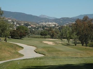 Golf Course below Villa