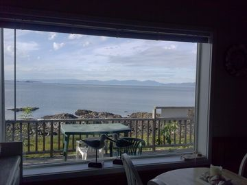 Prince of Wales Island cabin rental - We apologize for your view out of the kitchen
