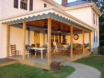 Large Covered Porch From Which To Enjoy Bird And Wildlife Watching