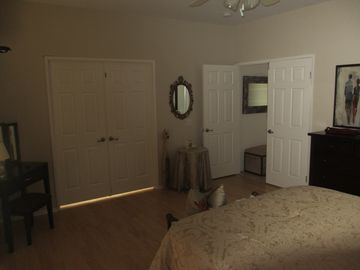 Doors from Master Bedroom to Master Bath