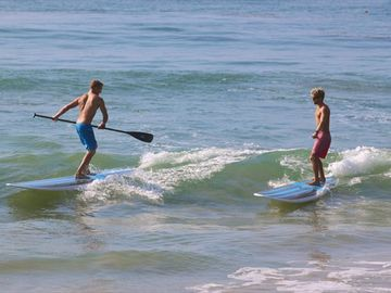 Try your hand at paddle boarding