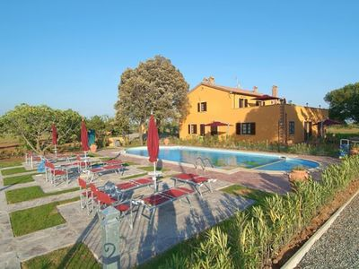 Apartment in farmhouse with pool on the Etruscan Coast,3km far from the beach