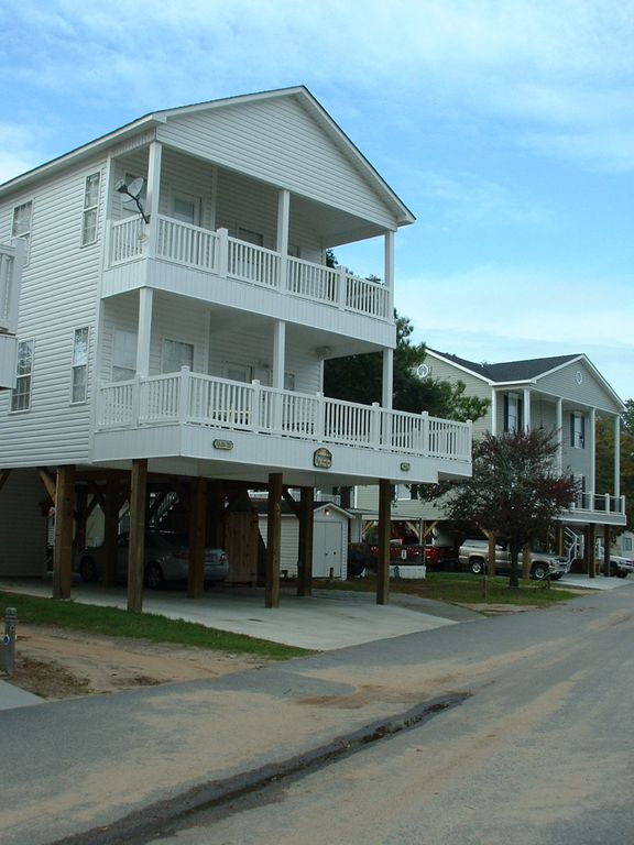 Beautiful 2 story beach house in ocean lakes vrbo for 2 story beach house