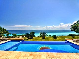 Isla Mujeres house photo - Panoramic View of the Turquoise waters of Isla Mujeres