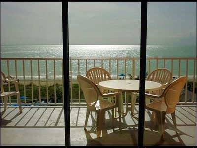 The Balcony -- Homebase for Enjoying the Sea, Sun and Sunsets.