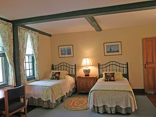 Nantucket Town house photo - Back Guest Bedroom - Twin Beds *Back & Front Guest Bedrooms share a Full Bath*