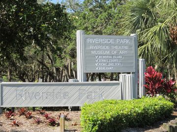this park has the most live oaks around,walking trails tennis courts & art s