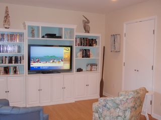Bethany Beach townhome photo - In the living room there is a large variety of dvds, books and some PS2 games.
