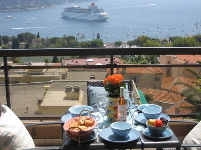 Villefranche-sur-Mer apartment rental - View of the Rade of Villefranche