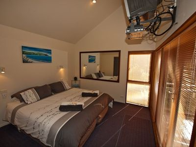 Bedroom with SKY TV and DVD