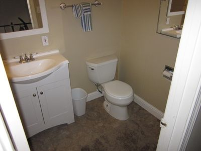Upstairs full bath with shower