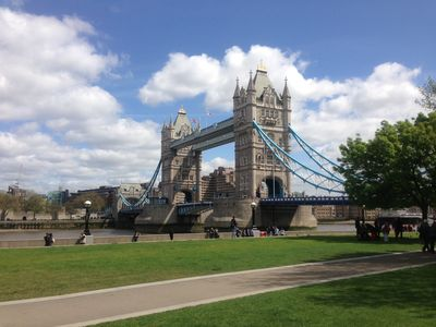 Tower Bridge - views don't get better than this - and it's only 5 minutes away!