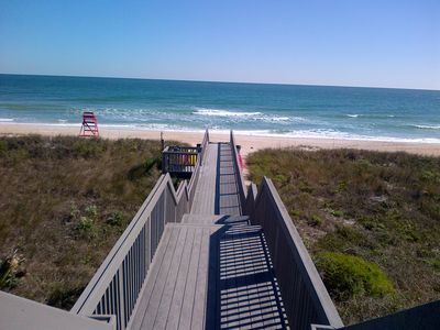 Boardwalk Leading to the Beach