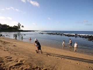 Poipu condo photo - Baby Beach is a short walk away