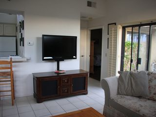 Palm Desert condo photo - Enjoy your favorite show on this flat screen TV