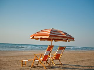 Port Aransas condo photo - Beach Chairs & Umbrella available for rent