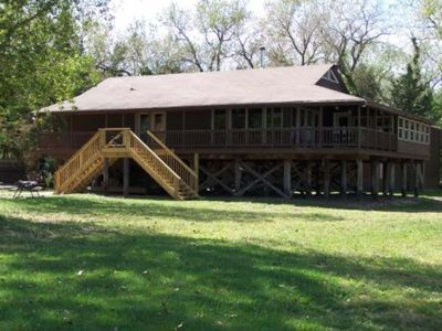 Your Platte River Lost Island Lodge. Privacy, seclusion, captivating views...