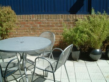 Ealing apartment rental - Private terrace for al fresco dining
