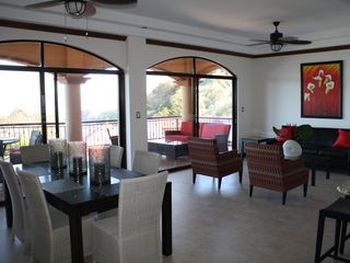 Punta Leona condo photo - Living and dining areas