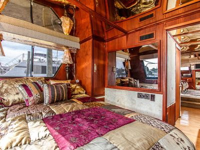State rooms offer the comfort of home while you enjoy the nautical life