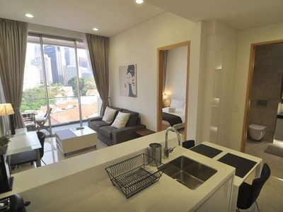 2BR Downtown Serviced Apartment @ MRT#S
