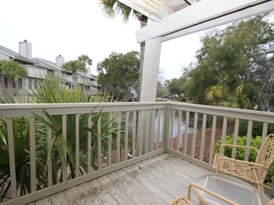 Private deck (with seating) allows peaceful atmosphere to relax