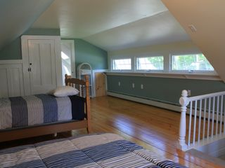 Lamoine farmhouse photo - South upstairs bedroom