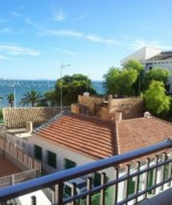 Apartment in La Puntica (Lo Pagán) with sea sightseeing close to  beach