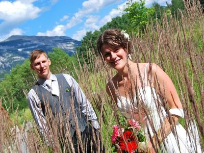 Canmore hotel rental - Chris & Jenna